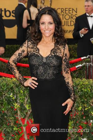 Julia Louis-Dreyfus - A host of stars were photographed on the red carpet as they arrived at the 21st Annual...