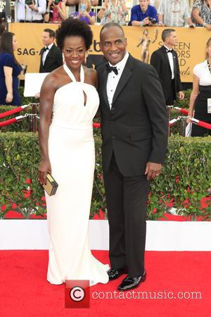 Viola Davis and Julius Tennon - A host of stars were photographed on the red carpet as they arrived at...