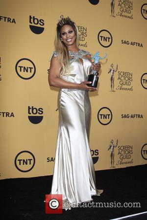 Laverne Cox - 21st Annual Screen Actors Guild Awards held at The Shrine Auditorium - Press Room at Shrine Auditorium,...