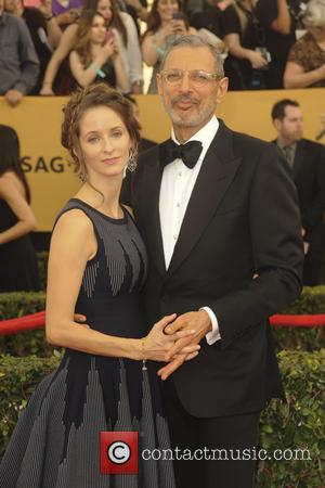 Jeff Goldblum and Emilie Livingston - A host of stars were photographed on the red carpet as they arrived at...