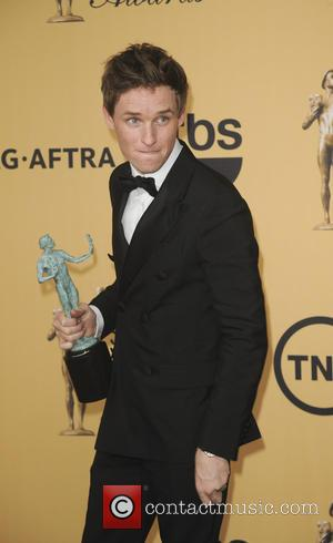 Eddie Redmayne - 21st Annual Screen Actors Guild Awards Pressroom at Screen Actors Guild - Los Angeles, California, United States...