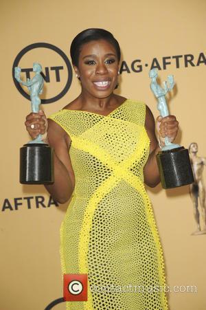 Uzo Aduba - 21st Annual Screen Actors Guild Awards Pressroom at Screen Actors Guild - Los Angeles, California, United States...