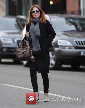 Geri Halliwell - Geri Halliwell seen out and about in London - London, United Kingdom - Monday 26th January 2015