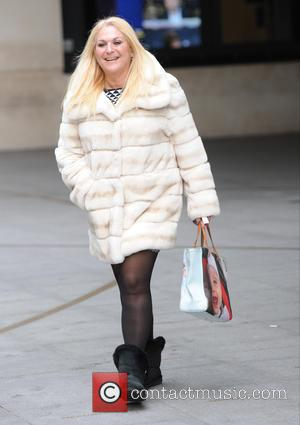 Vanessa Feltz - Vanessa Feltz  seen out and about in London - London, United Kingdom - Monday 26th January...