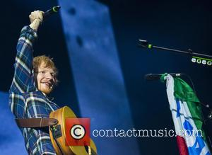 Ed Sheeran - Ed Sheeran performs live at the PalaLottomatica to a sold out crowd - Rome, Italy - Monday...