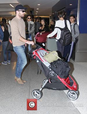 Caleb Followill, Lily Aldridge and Dixie Pearl Followill