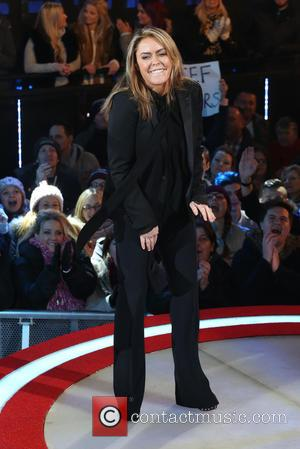 Patsy Kensit - Celebrity Big Brother eviction at Celebrity Big Brother - London, United Kingdom - Tuesday 27th January 2015