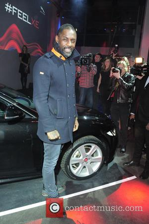Idris Elba - Presentation of the new Jaguar XE - Arrivals and Inside at substation Berlin - Berlin, Germany -...