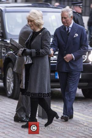 Camilla Parker Bowles and Prince Charles - Politicians and Royals attend the Holocaust Memorial Day Ceremony which marks the 70th...