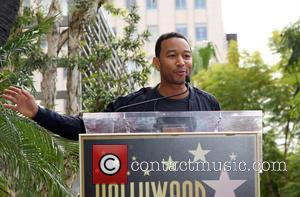 John Legend - Kenneth Ehrlich honored with a star on the Hollywood Walk of Fame at on the Walk of...