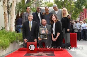 Smokey Robinson, Stevie Wonder, John Legend, Ll Cool J, Leron Gubler and Ken Ehrlich