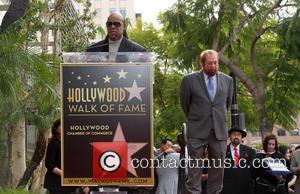 Stevie Wonder and Ken Ehrlich
