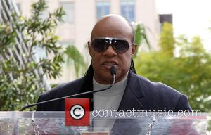 Stevie Wonder - Kenneth Ehrlich honored with a star on the Hollywood Walk of Fame at on the Walk of...