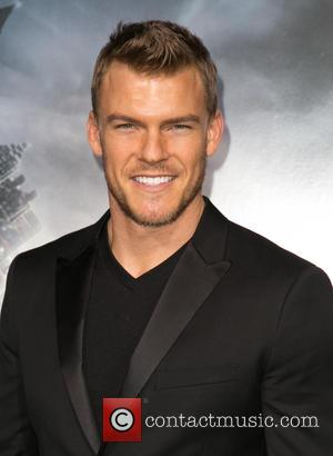 Alan Ritchson - A host of stars were snapped as they arrived for the Los Angeles premiere of the sci-fi...