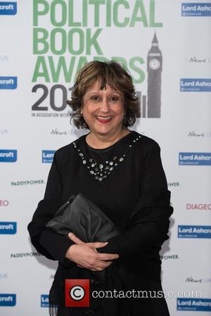 Yasmin Alibhai-Brown - The Paddy Power and Total Politics Political Book Awards held at the BFI IMax - Arrivals -...