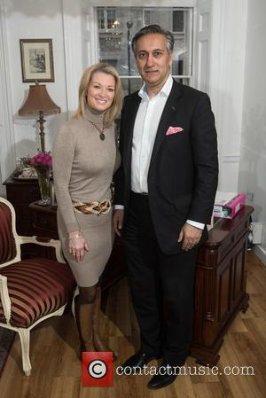 Gillian Taylforth and Dr. Aamer Khan - Gillian Taylforth launches Silhouette Soft at the Harley Street Skin Clinic. - London,...
