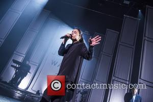 Shots of British singer songwriter Jessie Ware as she gave a live performance at the Brixton Academy in London, United...