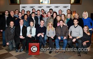 Mark Linn-baker, Mary Louise Wilson, Peter Gallagher, Kristin Chenoweth, Andy Karl, Michael Mcgrath, Kevin Stites, Warren Carlyle, Scott Ellis and Cast Members