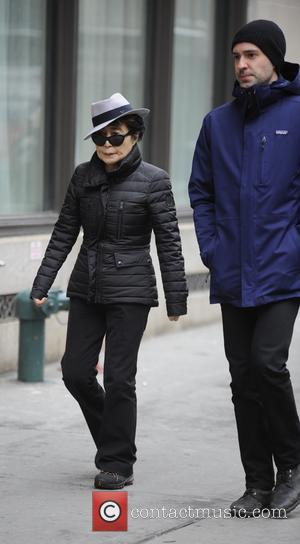 Widow and second wife of Beatle John Lennon, Yoko Ono was seen out walking in TriBeCa, Manhattan, New York, United...