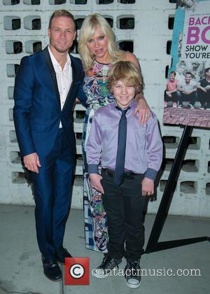 Brian Littrell, Leighanne Wallace and Baylee Thomas Wylee Littrell