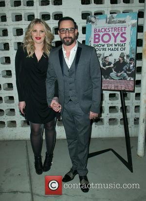 Rochelle Deanna Karidis and A.J. McLean - A variety of stars were snapped as they arrived for the Premiere Of...