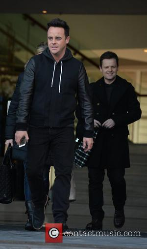 Anthony McPartlin and Declan Donnelly - 'Britain's Got Talent' judges and presenters at their hotel at Britain's Got Talent -...