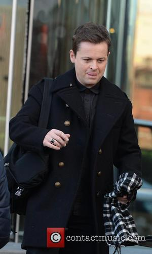 Declan Donnelly - 'Britain's Got Talent' judges and presenters at their hotel at Britain's Got Talent - Manchester, United Kingdom...