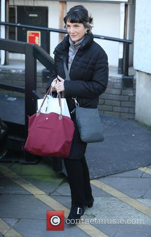 Harriet Walter - Harriet Walter outside the ITV Studios - London, United Kingdom - Thursday 29th January 2015
