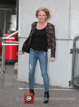 Lucy Benjamin - Lucy Benjamin outside the ITV Studios - London, United Kingdom - Thursday 29th January 2015