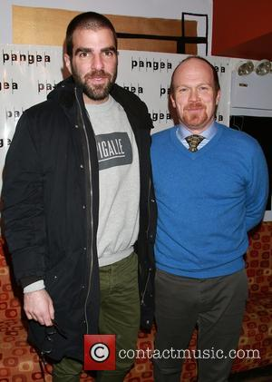 Zachary Quinto and James Joseph O'Neil - Shots from the after party for the opening night of 'A Month In...