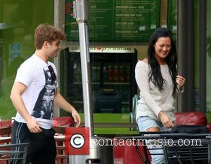 Garrett Clayton and Jade Moser - Garrett Clayton and Jade Moser have lunch at Crave Café in Studio City -...
