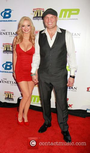 Randy Couture and Mindy Robinson - 7th Annual Fighters Only World Mixed Martial Arts Awards held at the Palazzo Las...