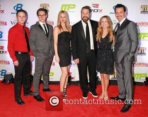 Rock Of Ages Cast with Joey Fatone - 7th Annual Fighters Only World Mixed Martial Arts Awards held at the...