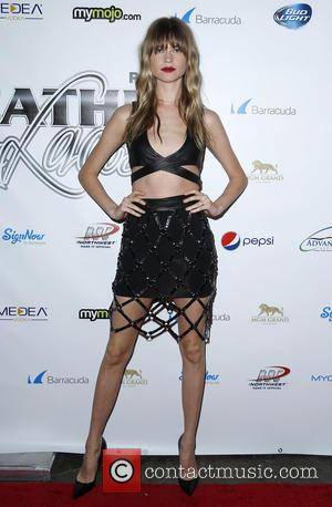 Behati Prinsloo - 12th Annual Leather and Laces Super Bowl Party Night One at The Bentley Projects Gallery Phoenix Arizona...