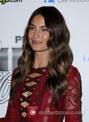 Lily Aldridge - 12th Annual Leather and Laces Super Bowl Party Night One at The Bentley Projects Gallery Phoenix Arizona...
