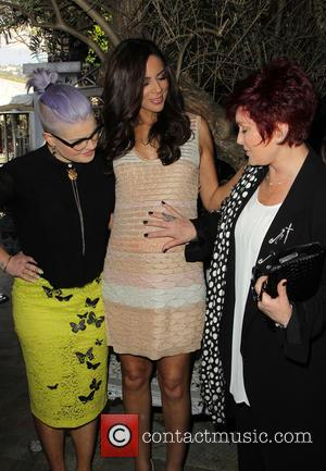 Kelly Osbourne, Terri Seymour and Sharon Osbourne - 'Extra' correspondant Terri Seymour's baby shower at Pump Lounge - West Hollywood,...