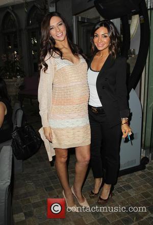 Terri Seymour and Courtney Laine Mazza - 'Extra' correspondant Terri Seymour's baby shower at Pump Lounge - West Hollywood, California,...