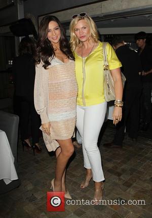 Terri Seymour and Natasha Henstridge - 'Extra' correspondant Terri Seymour's baby shower at Pump Lounge - West Hollywood, California, United...