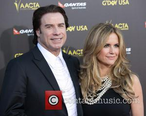 John Travolta and Kelly Preston - 2015 G'DAY USA Gala featuring the AACTA International Awards presented by Qantas at Hollywood...