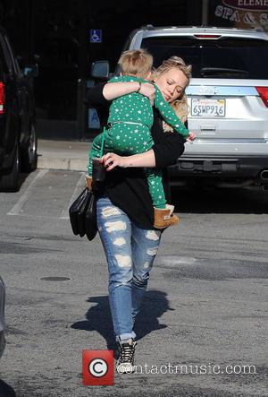 Hilary Duff and Luca Comrie