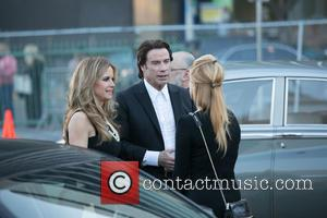 Kelly Preston and John Travolta - 2015 G'DAY USA Gala featuring the AACTA International Awards - Outside Arrivals at Hollywood...