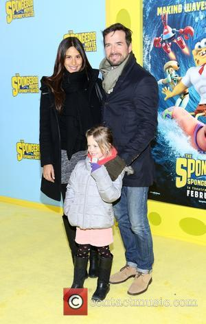 Matthew Settle - 'The SpongeBob Movie: Sponge Out of Water' New York premiere - Arrivals - New York, New York,...