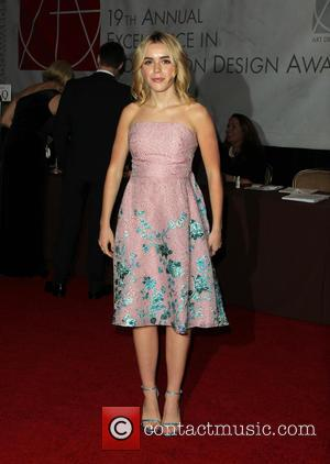 Kiernan Shipka - 19th Annual Art Directors Guild Excellence in Production Design Awards - Arrivals at THE BEVERLY HILTON HOTEL...