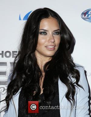 Adriana Lima - 12th Annual Leather and Laces Super Bow Party Day 2 at The Bentley Projects Gallery Phoenix Arizona...