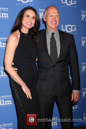 Andie MacDowell and Michael Keaton - A variety of stars were photographed as they attended the Santa Barbara International Film...