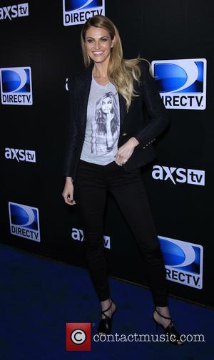 Erin Andrews - Shots of a host of stars as they attended the DirecTV Saturday Night Super Bowl Party which...