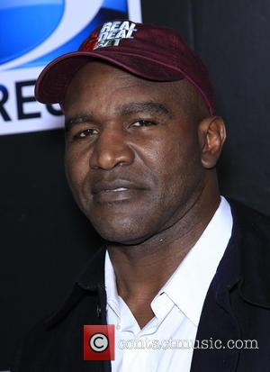 Evander Holyfield - Shots of a host of stars as they attended the DirecTV Saturday Night Super Bowl Party which...