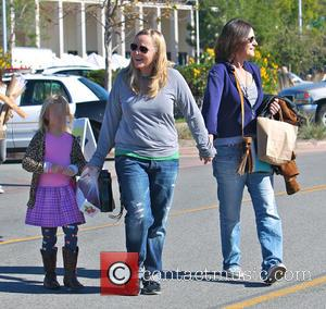 Melissa Etheridge and Linda Wallem - Melissa Etheridge and partner Linda Wallem spend the day at the Malibu Farmers Market...