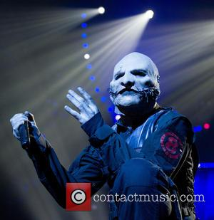 Corey Taylor - American heavy metal band Slipknot performed live on stage during the 'Prepare for Hell Tour 2015' The...