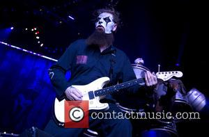 American heavy metal band Slipknot performed live on stage during the 'Prepare for Hell Tour 2015' The shots are from...